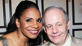 Lady Day leading lady Audra McDonald strikes a pose with producer Jeffrey Richards.