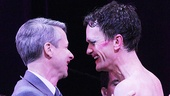 Book writer and original star John Cameron Mitchell passes the Hedwig torch to Neil Patrick Harris!