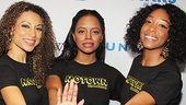 Motown gals Sabrina Sloan, Krystal Joy Brown and Marva Hicks order you to stop in the name of love!
