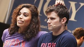 """Pippin stars Ciara Renee and Kyle Dean Massey are """"On the Right Track!"""""""