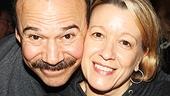 Cabaret duo Danny Burstein and Linda Emond.