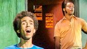 Kristen Sieh as Rachel Edbus, Adam Chanler-Berat as Dylan, Ken Barnett as Abraham Edbus, Kyle Beltran as Mingus & Kevin Mambo as Junior in  The Fortress of Solitude