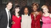 Kinky Boots - Backstage - 3/15 - Andy Kelso - Cortney Wolfson - Oprah Winfrey - Kyle Taylor Parker - Jeanna de Waal