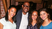 Renee Elise Goldsberry, Forest Whitaker, Jasmine Cephas Jones and Phillipa Soo