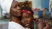 Akosua Busia as Rita and Lupita Nyong'o as Girl in Eclipsed