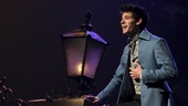 Chris McCarrell as Marius in Les Miserables. Photo by Matthew Murphy