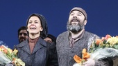 Fiddler on the Roof - opening - 12/15 - Jessica Hecht and Danny Burstein
