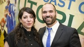 The Royale - Opening - 3/16 - director Rachel Chavkin and playwright Marco Ramirez