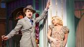 Jane Krakowski as Ilona and Gavin Creel as Kodaly in She Loves Me.
