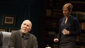 Frank Langella as Andre and Kathleen McNenny as Woman in The Father.