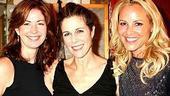 Photo Op - Rita Wilson greets stars at Chicago - Dana Delany - Rita Wilson - Maria Bello