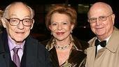 Photo Op - Chicago 10th Anniversary - James Nederlander - his wife - Gerald Schoenfeld