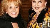 Photo Op - Chicago 10th Anniversary - Barbara Walters - Georgette Mosbacher