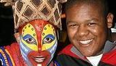 Photo Op - Kyle Massey at The Lion King - Tshidi Manye - Kyle Massey