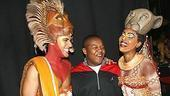 Photo Op - Kyle Massey at The Lion King - Josh Tower - Kyle Massey - Kissy Simmons (laughing)