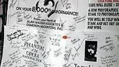 Photo Op - Phantom 8,000th Performance - callboard