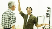 Priscilla rehearsal – Tony Sheldon – Will Swenson