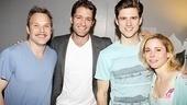 Matthew Morrison at Catch Me If You Can – Norbert Leo Butz – Matthew Morrison – Aaron Tveit – Kerry Butler