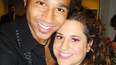 It's easy to see that Corbin Bleu and Marissa Jaret Winokur really are two of the nicest kids in town.