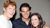 Novak Djokovic and Rafael Nadal at Mamma Mia – Jordan Dean – Rafael Nadal – Liana Hunt