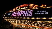 Memphis national tour launch – marquee