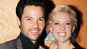 Stars Jason Tam and Patti Murin are all smiles at their Broadway opening bash.