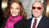 Death of a Salesman - Diane von Furstenberg and husband Barry Diller