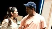 Streetcar Named Desire rehearsal – Daphne Rubin-Vega – Blair Underwood