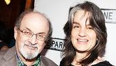 Clybourne Park Opening Night – Salman Rushdie – Pam MacKinnon