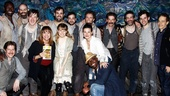 Menzel Diggs at Starcatcher – Peter and the Starcatcher cast – Idina Menzel – Valerie Harper – Taye Diggs – Steven Sater