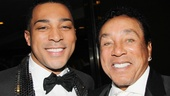 'Motown' Opening Night — Charl Brown — Smokey Robinson