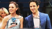 2013 Audience Choice Awards Ceremony — Laura Osnes — Santino Fontana