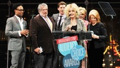 2013 Audience Choice Awards Ceremony — Billy Porter — Harvey Fierstein — Stark Sands — Cyndi Lauper — Annaleigh Ashford — Daryl Roth