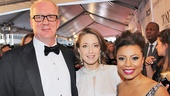 Tony Red Carpet- Tracy Letts- Carrie Coon- Shalita Grant