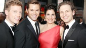 Tony Red Carpet- Barrett Foa- Andrew Rannells- Stephanie J. Block- Sebastian Arcelus