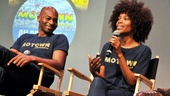 'Motown' at SoHo Apple Store— Brandon Victor Dixon — Valisia LeKae