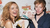 Rachel Bay Jones and Matthew James Thomas get some major puppy love at Broadway Barks. If you missed it this year, check out all the furry fun at next year's event!