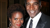 Tony winner LaChanze (who is gearing up to star in If/Then) and her Broadway pal, Tony nominee Norm Lewis, are dressed to the nines at the gala.