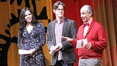 Celebrity presenters included Wicked's Lindsay Mendez, Peter and the Starcatcher's Rick Holmes and Betrayal's Stephen DeRosa.