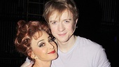 Pippin star Annie Potts cuddles up to her new onstage grandson, Matthew James Thomas.