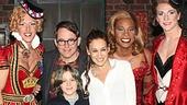 Kinky Boots - Sarah Jessica Parker visits - OP - Matthew Broderick - Sarah Jessica Parker - James Wilkie Broderick