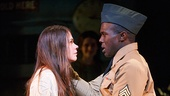 Sutton Foster as Violet & Joshua Henry as Flick in Violet