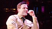 Joshua Henry as Flick, Colin Donnell as Monty & Sutton Foster in Violet