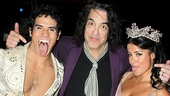 Aladdin - Paul Stanley Visit - Adam Jacobs - Courtney Reed