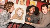 Beautiful - Sardi's - 1/15 - Jessie Mueller  - Billy Porter - Andy Kalr