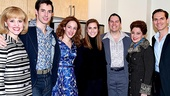 Beautiful - Backstage - 1/15 - Allison Williams - Anika Larsen - Scott J. Campbell - Jessie Mueller - Kevin Duda - Liz Larsen - Paul Anthony Stewart
