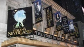 Finding Neverland  - Opening - 4/15 - marquee