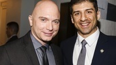 Tony Nominees - Brunch - 4/15 - Michael Cerveris - Tony Yazbeck