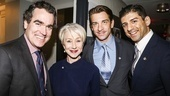 Tony Nominees - Brunch - 4/15 - Brian d'Arcy James - Helen Mirren - Andy Karl - Tony Yazbeck