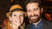 Hamilton - backstage - 8/15 - Kelli O'Hara and Matthew Morrison